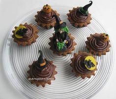 Marsispossu: Galleria Halloween Cupcakes, Desserts, Food, Tailgate Desserts, Deserts, Essen, Postres, Meals, Dessert