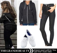 """Ariana's exact outfit that she wore for """"One Last Time"""" music video.Watch OLT music video here.Find all exact items here."""