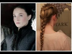 Game of Thrones: Sansa Inspired Braid