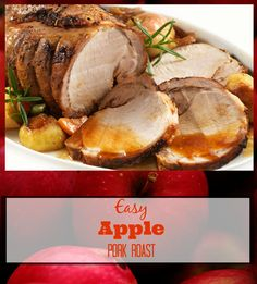 Easy Apple Pork Roast Recipe