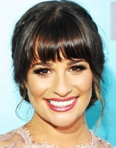 Google Image Result for http://www.thefashionmuse.com/wp-content/uploads/2012/07/lea-michele-bridal-updo-hairstyle-with-bangs.jpg