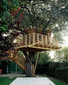 casa del árbol niños - Buscar con Google