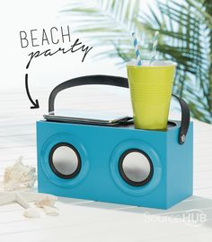 Play your tunes where ever you may be with the Beach Speaker - Kmart, Australia. - SourceHub Group
