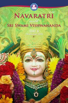 https://flic.kr/s/aHsknr6bkb   Navaratri 2015 - DAY 6 with Sri Swami #Vishwananda   The sixth night of Navaratri honours Goddess Katyayani. Associated with the fierce form of Shakti, She is a war goddess who combats negativity. As such, she can be strict and disciplining, but She is compassionate and pure of heart and gives us the strength and ability to overcome fears, diseases and miseries of life.   This is also the night when the Prabhus dress up as Matajis to show that all of creation…