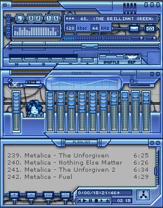 Remember Winamp? I do ... This skin is still awesome.