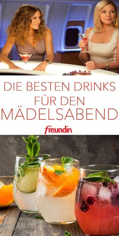 Cosmopolitan, Margarita, Sex on the Beach: Raise the curtain for the best mocktails and drinks for girls& evenings summer recipes summer recipes abendessen rezepte recipes recipes dessert recipes dinner Summer Drink Recipes, Summer Drinks, Cocktail Recipes, Recipes Dinner, Beste Cocktails, Easy Cocktails, Ginger Ale, Rosemary Cocktail, Bash