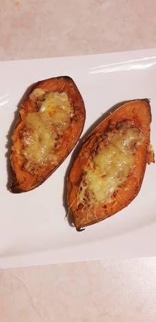 Milánói töltött édesburgonya Baked Potato, Food And Drink, Soup, Potatoes, Foods, Baking, Drinks, Ethnic Recipes, Gastronomia
