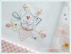 Have you been looking for sweet and unique stitchery designs that can be displayed in a variety of projects?   The S...