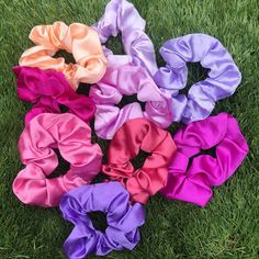 THE PURPLE SATIN COLLECTION💜 now available in my Etsy Shop (8+ colours available)✨ link in bio #scrunchies Purple Satin, Scrunchies, My Etsy Shop, Colours, Rose, Link, Flowers, Pattern, Shopping