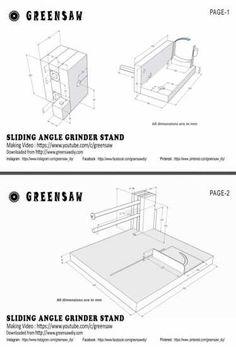 Angle Grinder Stand, Bench Grinder, Taper Jig, Chisel Sharpening, Chop Saw, Pocket Hole Jig, Circular Saw Blades