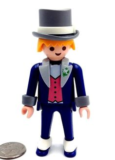 Playmobil Victorian Gentleman in top hat NEW