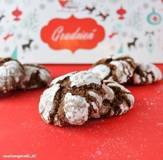 The best chocolate cookies for Christmas. Crispy on the outside and deliciously soft on the inside. Gluten and dairy free. Best Chocolate, Chocolate Cookies, Healthy Sweets, Healthy Recipes, Healthy Food, Crinkle Cookies, Crinkles, Dairy Free, Winter Solstice