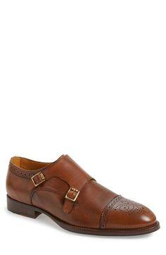 Vince Camuto 'Briant' Double Monk Strap Shoe (Men)