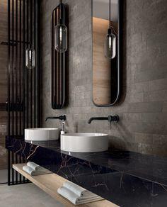 Bathroom Flooring, Bathroom Furniture, Bathroom Vanities, Bathroom Cabinets, Bathroom Artwork, Concrete Bathroom, Shower Bathroom, Wood Flooring, Contemporary Bathroom Designs