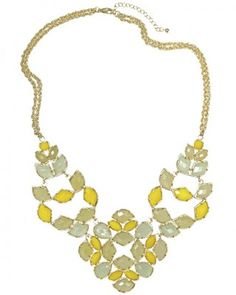Grayce Statement Necklace - I neeeeeed this. It told me it wants to be on Callie's neck :)