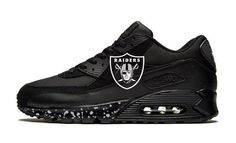 Customize Nike Shoes and Design Converse Shoes Oakland Raiders Shoes, Raiders Fans, Raiders Stuff, Raiders Girl, Nike Cortez Shoes, Nike Air Shoes, Custom Converse Shoes, Custom Sneakers, Shoes Sneakers