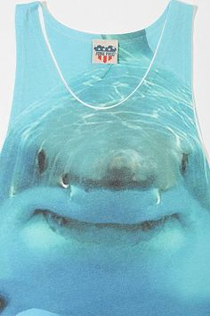 Junk Food Sublimated Shark Tank Top - Urban Outfitters ($19.00) - Svpply