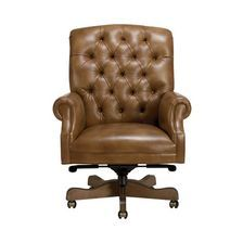 Tanner Leather Desk Chair