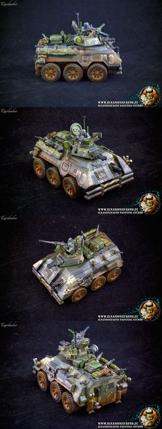 Chapterhouse wheeled chimera converted in Urban Camo