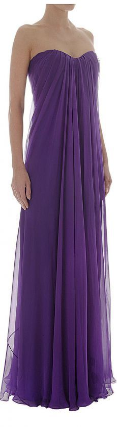 Simply Gorgeous purple evening gown
