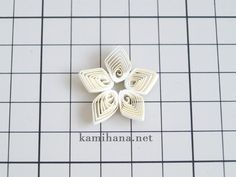Paper Quilling -- 【ペーパークイリング】紙で作るスイセン