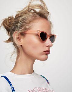 Gafas cateye rosas - Gafas de sol - Accesorios - Mujer - PULL&BEAR España