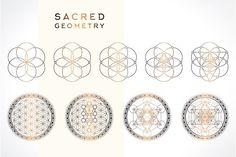 Sacred Geometry by Wumi Studio on @creativemarket