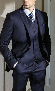 Men Suits Custom Made Burgundy Casual Men Suits Slim Fit Blazer suits for men 3 piece (Jacket+Pants+vest) Gentleman Mode, Gentleman Style, Three Piece Suit, 3 Piece Suits, Sharp Dressed Man, Well Dressed Men, Suit And Tie, Dress For Success, Suit Fashion
