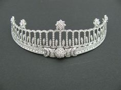 13 carat diamond tiara designed by Cartier and previously belonging to Grand Duchess Hilda of Baden.