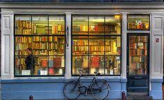 Bookstore in Amsterdam.