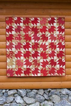 Happy Canada Day from our Canadian cabin in the woods, all my crazy Canuck kids and my latest Canada inspired quilt. Quilting Projects, Quilting Designs, Quilting Ideas, Canadian Quilts, Quilts Canada, Canada Day Crafts, Leaf Crafts, Yarn Crafts, Two Color Quilts