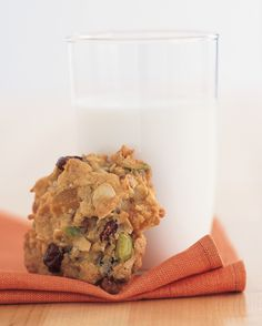 Mixed Fruit and Nut Cookies