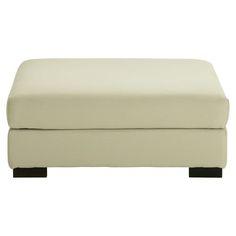 Pouf de canapé modulable en coton mastic