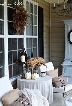 Dear Lillie...nice idea for reworking the old porch chairs