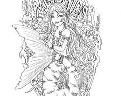 Fantasy Coloring Pages Worlds Best Coloring Pages Mermaids