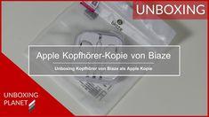 Video mit Unboxing einer Apple Kopfhörer Kopie von Biaze #unboxing #applekopfhörer #kopie #biaze