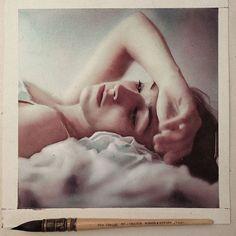 Quarta-feira, #aquarela #watercolor #focus #blur.