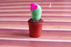 crochet cactus by KgmAccessories on Etsy