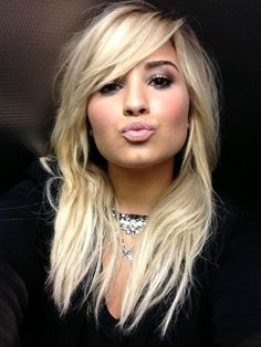 Demi Lovato Celebrity social networking shots.