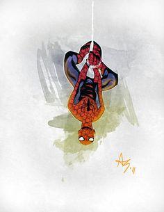Spider-Man by Allen Byrns
