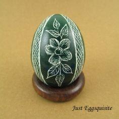 Pysanky Pisanki Ukrainian Polish Easter Egg by JustEggsquisite, $22.00