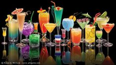 Sexy Alcoholic Mixed Drink Names And Recipes-  Affair, French Kiss, Pink Panties, Between the Sheets