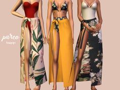 New clothing accessory perfect with your bikini or swimsuit! Found in TSR Catego. New clothing accessory perfect with your bikini or swimsuit! Found in TSR Category 'Sims 4 Female Swimwear' Sims Mods, Sims 4 Game Mods, Sims 4 Mods Clothes, Sims 4 Clothing, Clothing Sets, Clothing Accessories, Sims 4 Cc Packs, Sims 4 Mm Cc, Pelo Sims