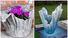 Máte rádi pěkné originální věci? Přejete si vaši domácnost něčím okořenit? Concrete Pots, Concrete Crafts, Concrete Garden, Halloween Diy, Garden Sculpture, Garden Design, Diy And Crafts, Exotic, Projects To Try
