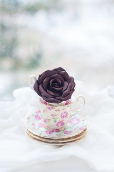 Doux Secrets de Lulu: comment faire Modélisation Roses de chocolat