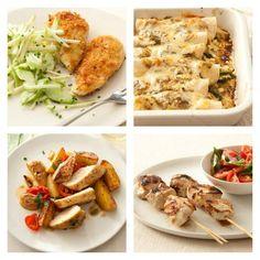 12 Chicken Dinners Under 500 Calories