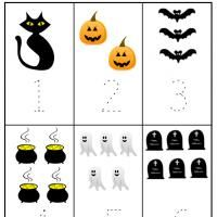 Halloween Preschool Number 1 to 6 Worksheet Discount Watches http://discountwatches.gr8.com More Fashion at www.thedillonmall.com Free Pinterest E-Book Be a Master Pinner http://pinterestperfection.gr8.com/