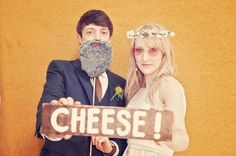 CHEESE SIGN! PHOTO BOOTH.