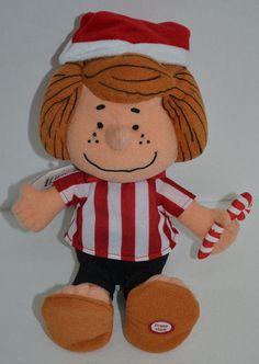 "Hallmark Peanuts Peppermint Patty Plush Doll Christmas Santa Hat 9"" No Sound #Hallmark http://stores.ebay.com/Lost-Loves-Toy-Chest/_i.html?image2.x=0&image2.y=0&_nkw=peanuts"