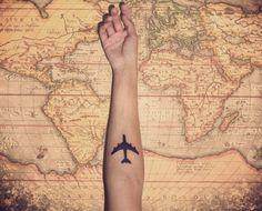 Plane tatoo, I'd never get a tatoo but if I did...